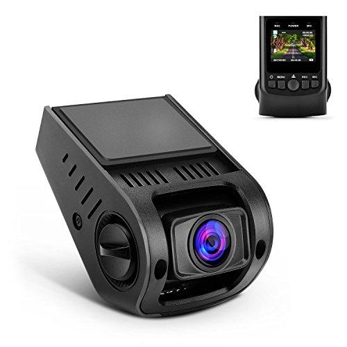 APEMAN ドライブレコーダー ドラレコ1080P HD 超小型 170度広角 熱対策済み 衝撃録画 ミラーに隠れGPS別売