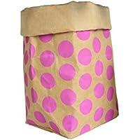 収納袋 クラフト紙袋 ウォッシャブル 堅牢で耐久性のある 再利用可能 2種選択 (40g)