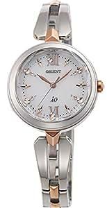 [オリエント]ORIENT 腕時計 iO  イオ スイートジュエリー ソーラー電波 ホワイト(5色ラメ入り) WI0091SD レディース