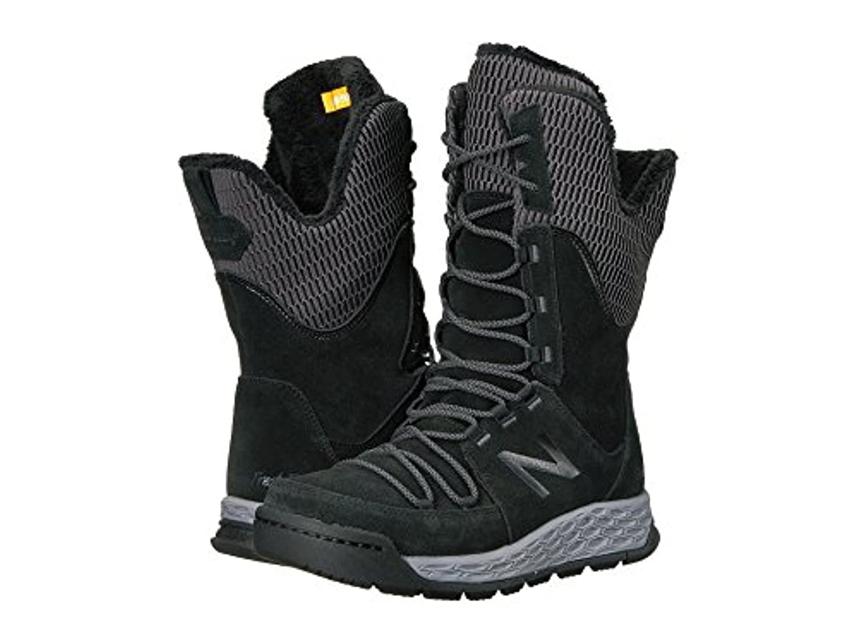 スプレー教会炭素(ニューバランス) New Balance レディースブーツ?靴 BW1100v1 Black/White 11 (28cm) B - Medium