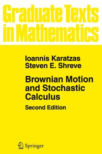 Brownian Motion and Stochastic Calculus (Graduate Texts in Mathematics)の詳細を見る
