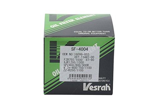 ベスラ(Vesrah) オイルフィルター ホンダ、ヤマハ、カワサキ SF-4004