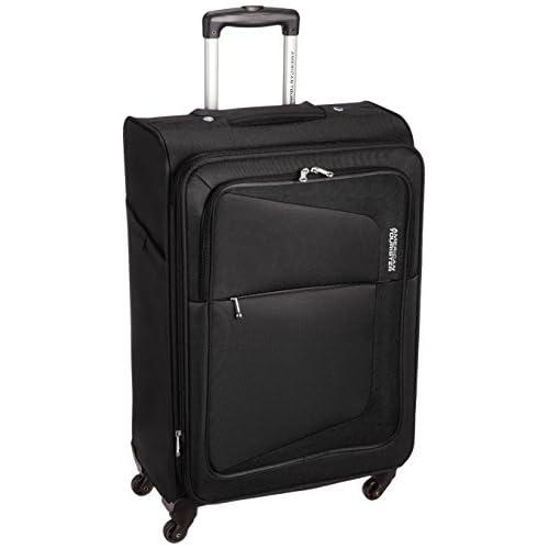[アメリカンツーリスター] AmericanTourister スーツケース COSTA コスタ スピナー66 74L/82L 3.9kg 拡張機能 無料預入受託サイズ 保証付 75W*09002 09 (ブラック)