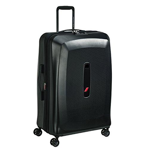 Delsey デルセー AIR FRANCE PREMIUM スーツケース キャリーケース 重量チェッカー機能搭載 容量拡張可能 大型 軽量 収納バック&ハンガー付き 条件付き10年保証 109L&ブラック