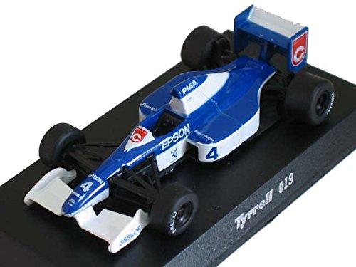 京商 1/64 Tyrrell ティレル  ミニカーコレクション 019 No,4 1990  ジャン・アレジ