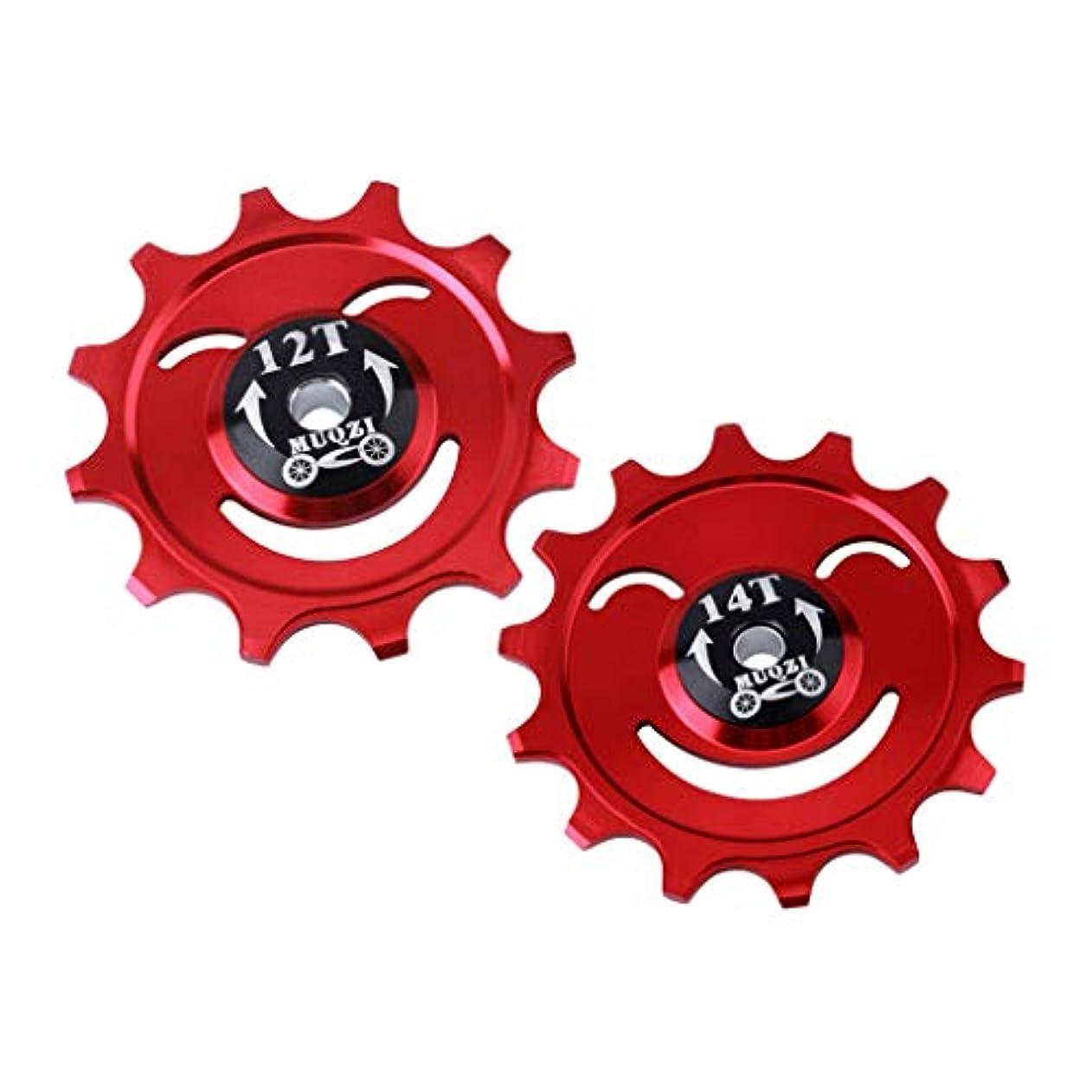 伝統的コンベンション鎮痛剤FLAMEER セラミック リアディレイラー ジョッキー 12T 14T MTB BMXプーリーガイドホイール 全2選択