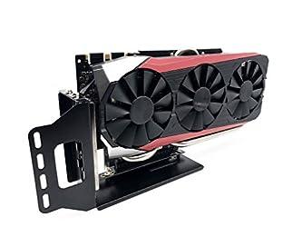 Kaislin VGA 垂直サポート,ビデオカード用突っ張りホルダー PCI Expressライザーケーブル-20CM付き,グラフィックカードを固定する