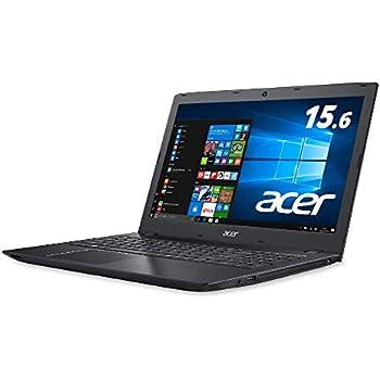 【Amazon.co.jp限定】Acer ノートパソコン Aspire E 15 Core i3/15.6型FHD/ブラック/4GB/1TB/ドライブなし/Windows 10/E5-576-N34G/K