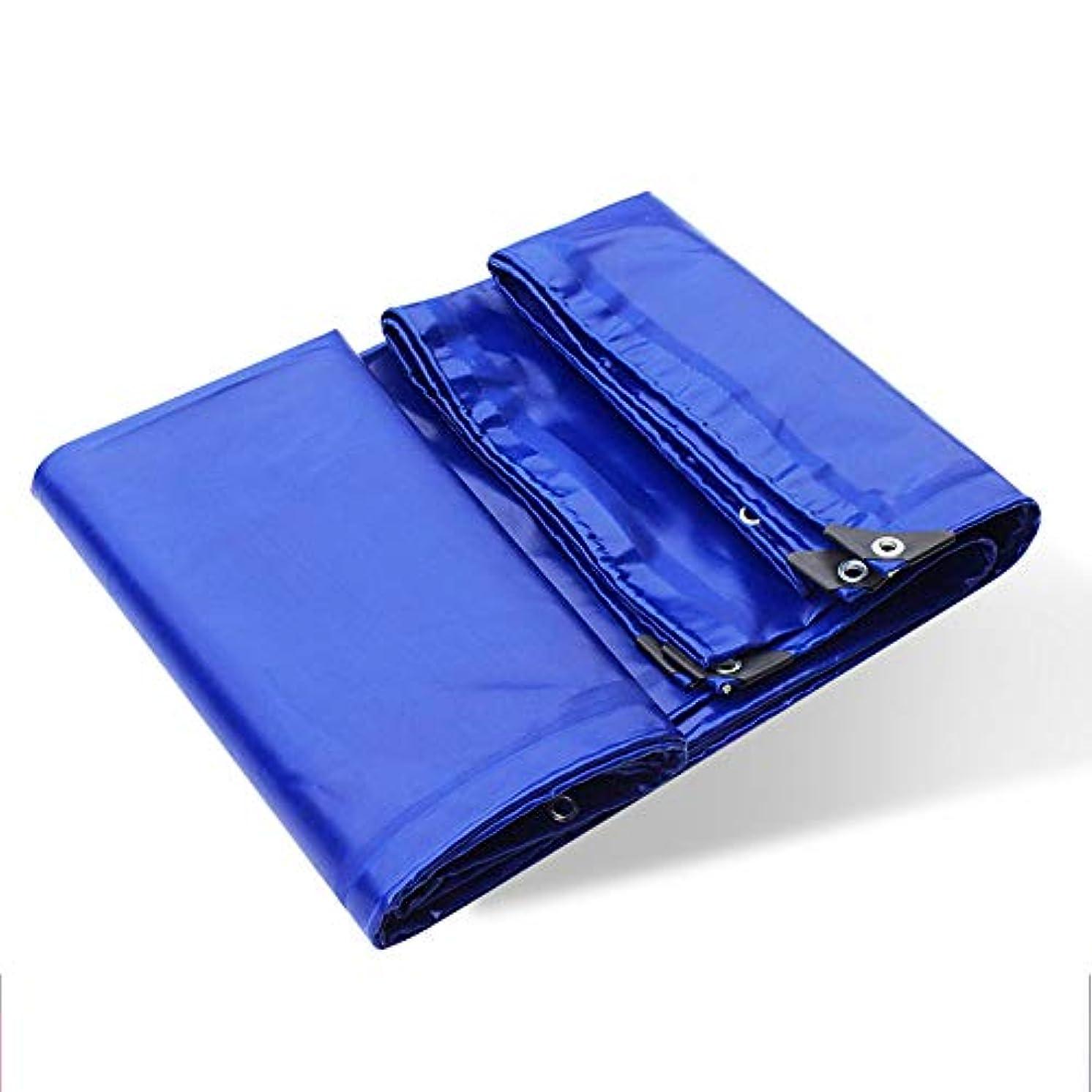 月分離する不公平耐火布|難燃布|グラスファイバー被覆防水布 - 青、重量650g /平方