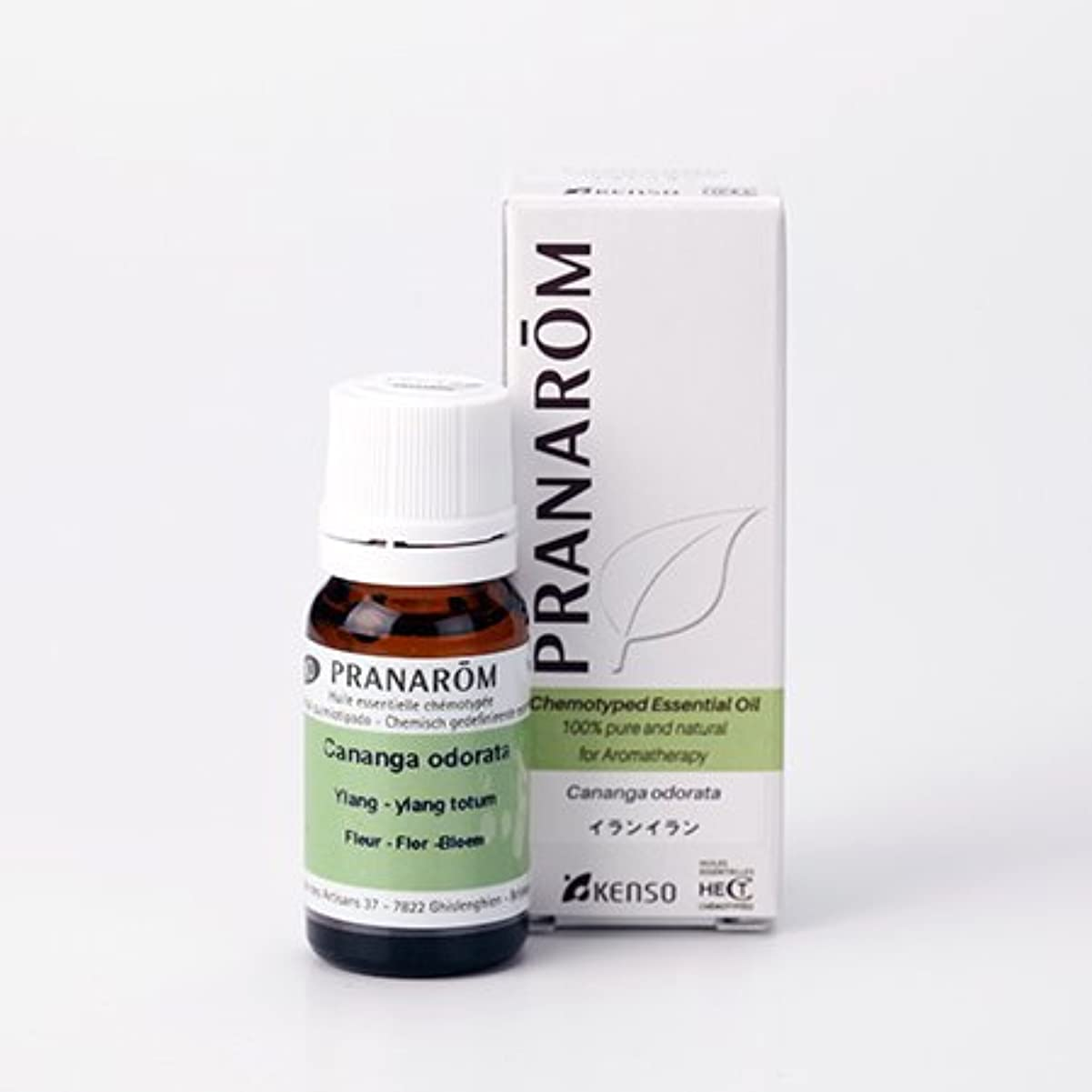 振動するうなり声バンプラナロム ( PRANAROM ) 精油 イランイラン 10ml p-23