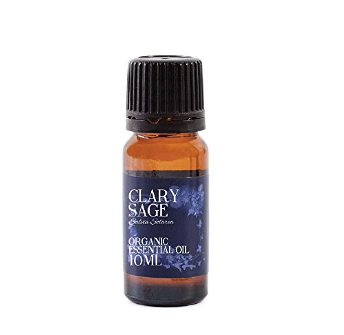 ティーンエイジャー拡散する絶滅させるMystic Moments | Clary Sage Organic Essential Oil - 10ml - 100% Pure