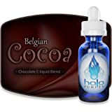 halo Premium E-Liquid ヘイロー リキッド ニコチン0㎎(並行輸入品)【日本国内より発送】 (Belgian Cocoa, 30mg)