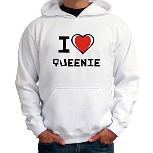 I love Queenie メンズパーカー