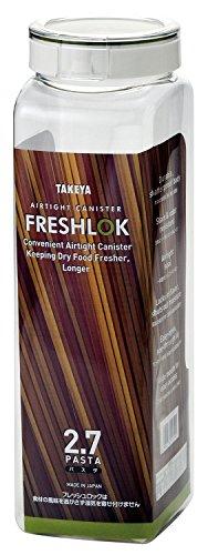 タケヤ化学工業 フレッシュロック パスタ 2.7L パスタ保存容器