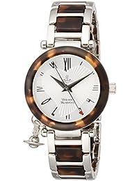 [ヴィヴィアンウエストウッド]Vivienne Westwood 腕時計 ORB シルバー文字盤 ステンレススチール クォーツ VV006SLBR レディース 【並行輸入品】