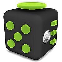 Best Choose Fidget Cube ストレス解消キューブ 不安 緊張 リリーフ ルービックキューブ おもちゃ 6面あり デスクトイ おもちゃ YBC-068TL (グリーン)