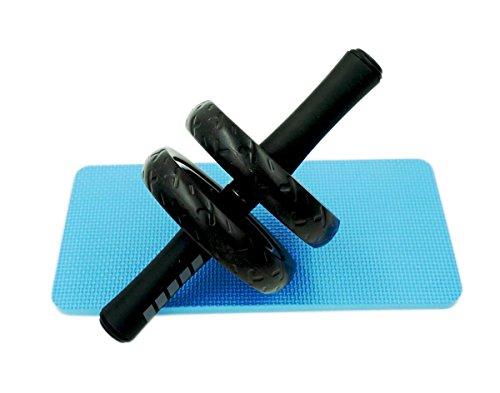 Soomloom アブホイール エクササイズウィル スリムトレーナー 超静音 腹筋ローラー エクササイズローラー 膝を保護するマット付き