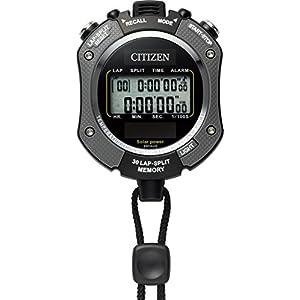CITIZEN シチズン ストップウォッチ 防水 ソーラー電源 グレー 069 8RDA69-008