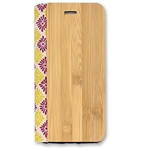 PLATA iPhone6 iPhone6s ケース 手帳型 和柄 モダン ポーチ ケース Z カバー 菊菱 柄 iPhone 6 6s 【 03 】 IP6-9020-03