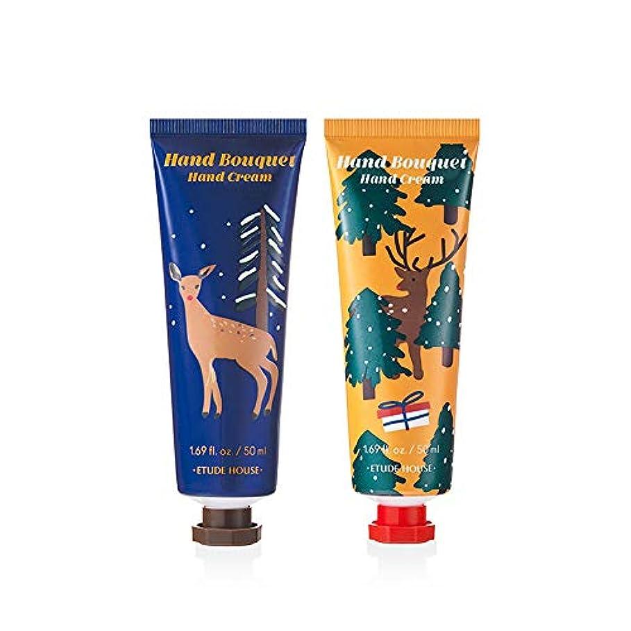 天使テロリスト生産性エチュードハウスルドルフハンドブーケ ハンドクリームセットEtude House Rudolph, Coming To Town Hand Bouquet Hand Cream 2 Kinds Set [Holiday...