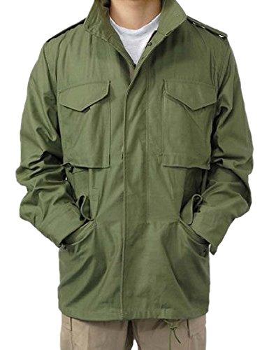 US.M65.OD.コットンフィールドジャケット(A5N-S)シグナルバッジ付
