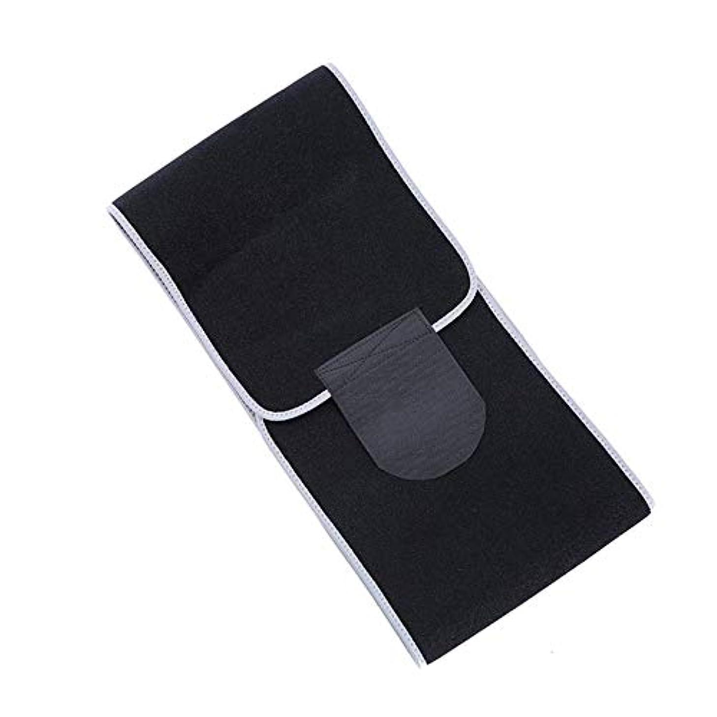 太字シャープ配置発汗ベルトスポーツベルトウエストトレーナーフィットネス腹部トレーニングスウェット