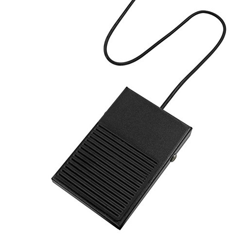 サイズ USBシングルフットスイッチ2 静音タイプフットスイッチ USB-1FS-2