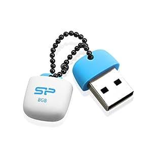 シリコンパワー USB2.0 USBメモリ(防水 / 防塵 / 耐衝撃) Touch T07シリーズ 8GB 永久保証 SP008GBUF2T07V1B