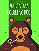 Zoo Animal Coloring Book: Stress Relieving Animal Designs (natural animals kids)