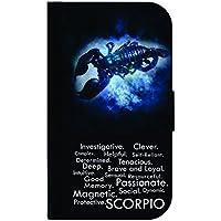 Zodiac Scorpio Traits TM PUレザーとスエードケースとの互換性Apple iPad « Miniバージョン、2、3Made in the USA