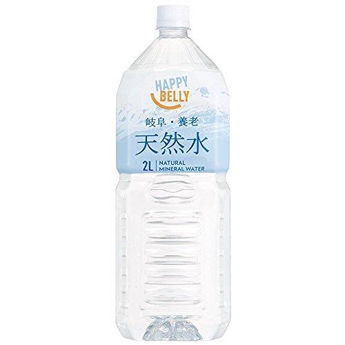 [Amazonブランド]Happy Belly 天然水 岐阜・養老 2L×10本