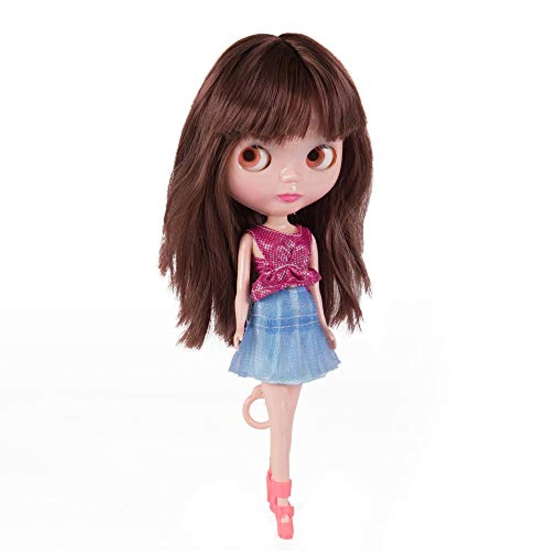 クローンブライス人形 ブライススタイルBJD人形 4色に変大きな瞳 身長30cm ブライス 靴服2セット スタンド付 コレクション&女の子のプレゼント