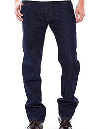 Levi's 501 ジーンズ リーバイス 501 メンズ デニム 00501-0115 ワンウォッシュ ボタンフライ ジーンズ ONE WASH RINSED USA規格 [並行輸入品]