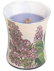 ライラック – Decal砂時計Scented Candle by WoodWick