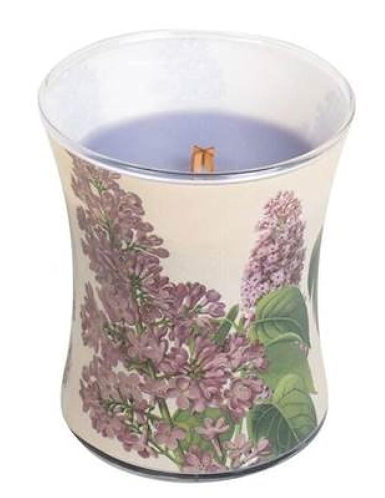 パステル省略警察ライラック – Decal砂時計Scented Candle by WoodWick