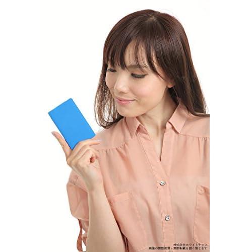 AQUOS Xx モバイル バッテリー カードサイズ 厚さ約6mm 2500mAh ブルー AQUOS PHONE Xx 305SH 304SH 302SH アクオスXx Lightning microUSB 充電器 モバイルバッテリー 簡易梱包品