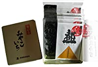 【高島屋海苔店】 有明産 焼き海苔 5帖缶入り(全型10枚入×5袋)