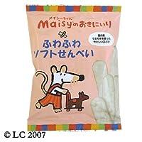 メイシーちゃん(TM)のおきにいり ふわふわソフトせんべい (2枚×10)×6袋 【創健社】