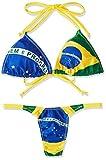 (プレイ)PLAY National Flag パット入り三角ブラSET 053179 112 ブラジル M