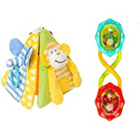 PlaytimeピラミッドActivity Toy and Rattle and Shakeバーベル