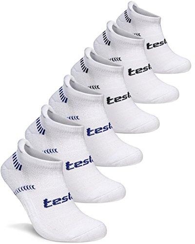 GRSL_MZS04-WHT-M(テスラ)TESLA ソックス 靴下[抗菌防臭・吸汗速乾] ショートレングス 6足組 [ユニセックス]