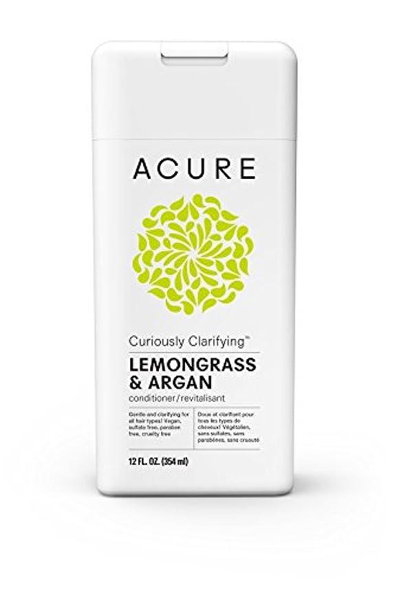 宿泊罪人有害Acure 不思議なレモングラスコンディショナー、12フロリダを明確化。オズ。 (梱包は異なる場合があります)