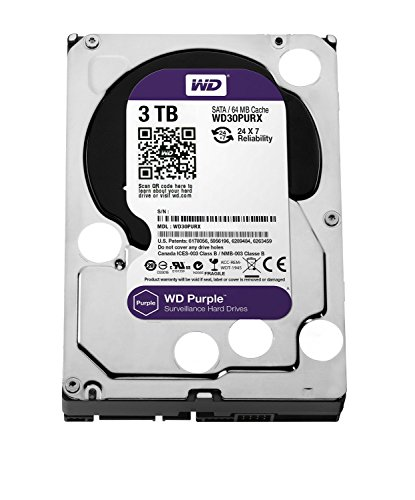 WD Purple 3.5inch IntelliPower 3.0TB 64MBキャッシュ SATA3.0  WD30PURX