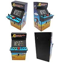 こいつは懐かしい♪アーケードゲームの筐体型アラームクロック!【アーケードゲームアラームクロック】アメリカン雑貨 アメリカ雑貨