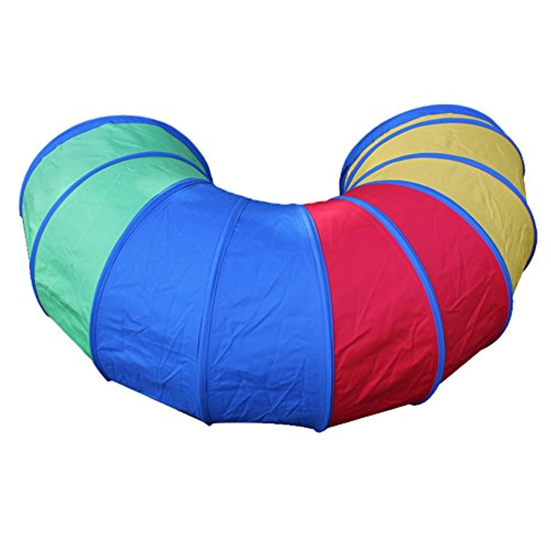 KssFire再生トンネル4 ftクロールトンネルKids Pop Up Play TentsトンネルDiscoveryチューブインドア/アウトドアゲーム