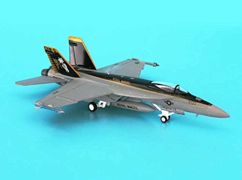 ヘルパ ホーガン 1/200 F/A-18E アメリカ海軍 VFA-27 ロイヤルメイセス 完成品