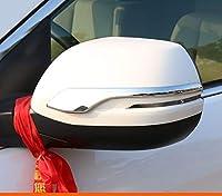 ホンダ CRV C-RV 2017 2018 車外部バックミラーカバースパンコール装飾ステッカーオートアクセサリー外装装飾-Silver style 2