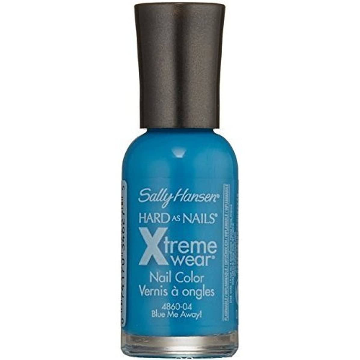 オンスまばたき解釈するSALLY HANSEN Hard As Nails Xtreme Wear - Blue Me Away! (並行輸入品)
