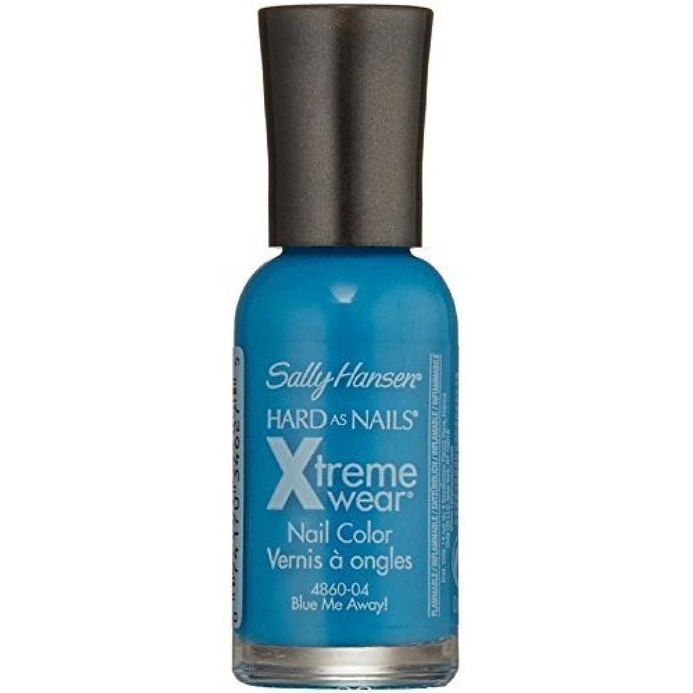 今日農業一貫性のないSALLY HANSEN Hard As Nails Xtreme Wear - Blue Me Away! (並行輸入品)