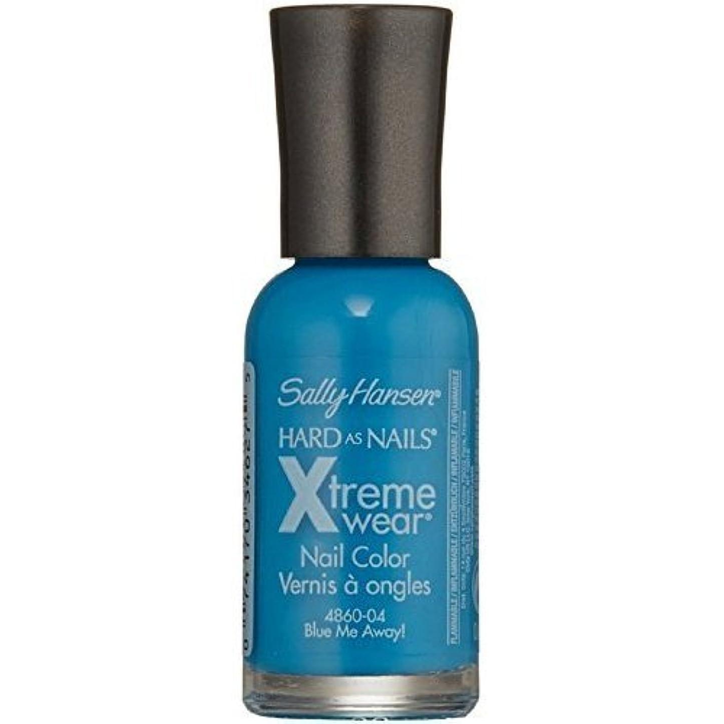 改革若者失われたSALLY HANSEN Hard As Nails Xtreme Wear - Blue Me Away! (並行輸入品)